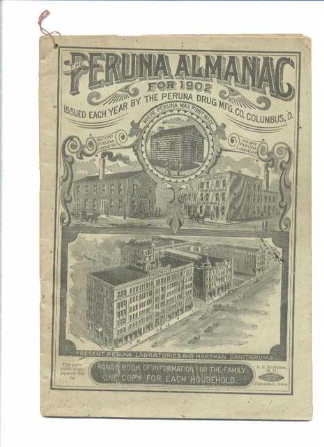 Peruna Almanac for 1902