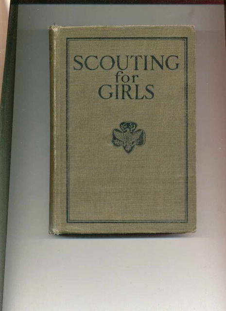 Scouting For Girls/Off.Handbook 1923 ed.