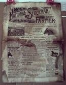 Feb 1891 National Stockman Farmer newspaper