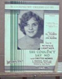 She Couldn't Say No 1929 Winnie Lightner