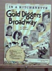 Gold Diggers of Broadway 1929 Great cover