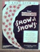 Show of Shows 1929 Lady Luck by Ray Perkins