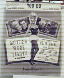 Mother Wore Tights 1947 Betty Grable cover