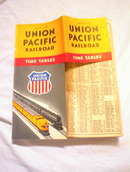 SEPT 12,1948 UNION PACIFIC TIME CHART