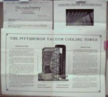Railroad Cooling Tower Ad Set 1927 EA Lundy