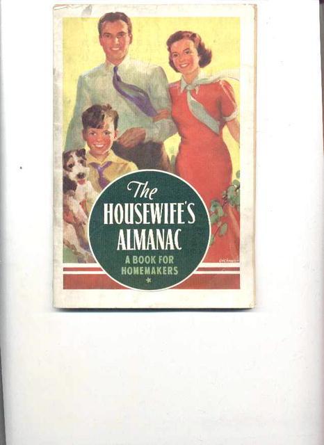 Kellogg's Housewive's Almanac,1938