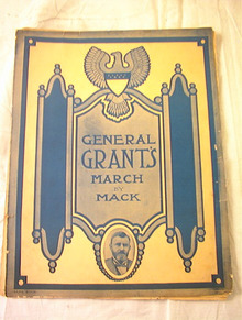 GENERAL GRANT'S MARCH BY MACK GRANT ON COVER