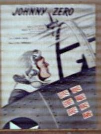 Johnny Zero 1943 Santly-Joy Inc Great Cover