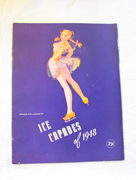 ICE CAPADES OF 1948 GREAT PETTY COVER