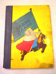 1953 BABAR THE KING BY JEAN DE BRUNHOFF