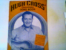 HUGH CROSS Anniversary Song Book signed 1944