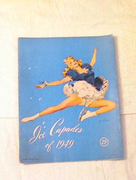 Ice Capades of 1949 Program Konrad & Wood