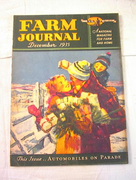 Dec,1935 Farm journal Automobiles on Parade