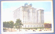Hotel Cleveland, Cleveland Ohio 1919