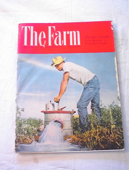 Winter,1951 The Farm magazine Grand Coulee