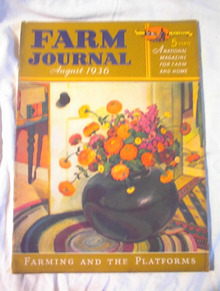 8/1936/Farm Journal/Farming and the Platforms