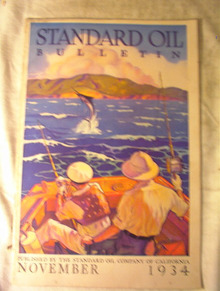 Standard Oil Bulletion,November 1934