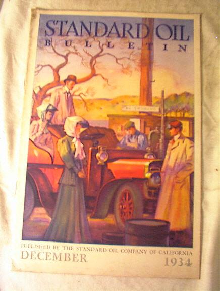 Standard Oil Bulletion,December 1934