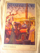 Standard Oil Bulletion,December 1934