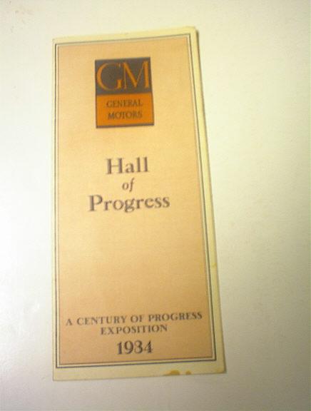 General Motors Hall of Progress,1934