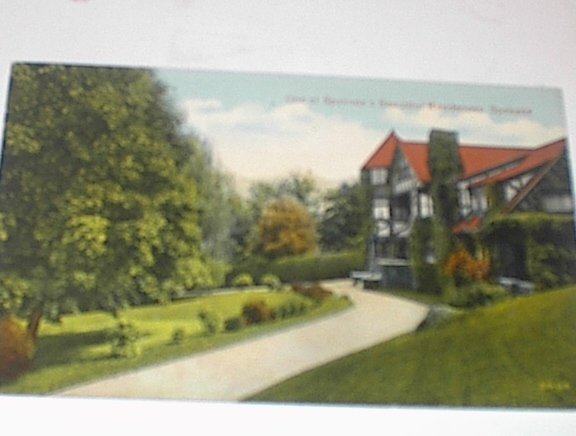 1940's One of Spokane's Beautiful Houses