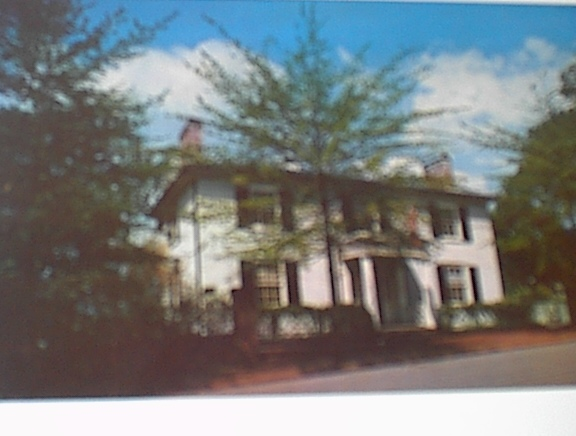 1960 Birthplace of Woodrow Wilson,Staunton,Va