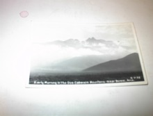 1957 Early Morning in Dos Cabezos Mountains