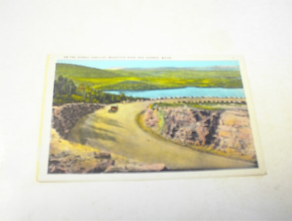 1910 On The Scenic Cadillac Mountain Road
