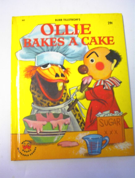 Ollie Bakes A Cake by Jean Bethell,1964