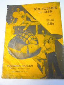 Ice Follies of 1939 Program,Evelyn Chandler