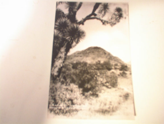 c1940 Piramid of the Moon Sanjuan Teotihuacan