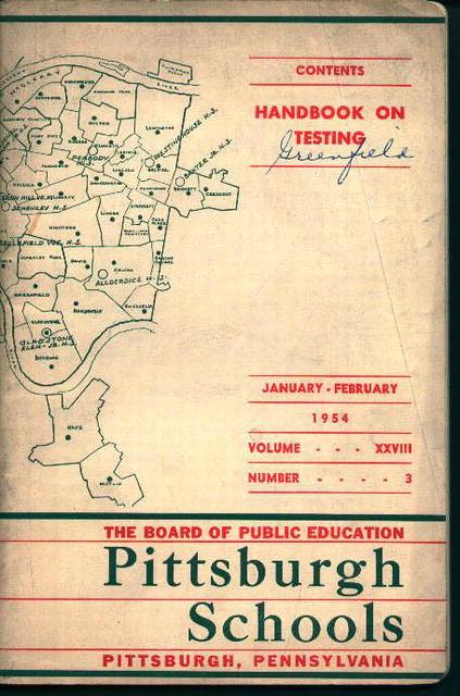 Pittsburgh Public Schools Testing Handbook