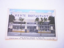 c1940 KENTS Restaurant Atlantic City