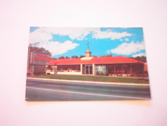 c1950 Howard Johnson's Restaurant