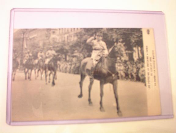 1919 Le Defile-Le General Mangin