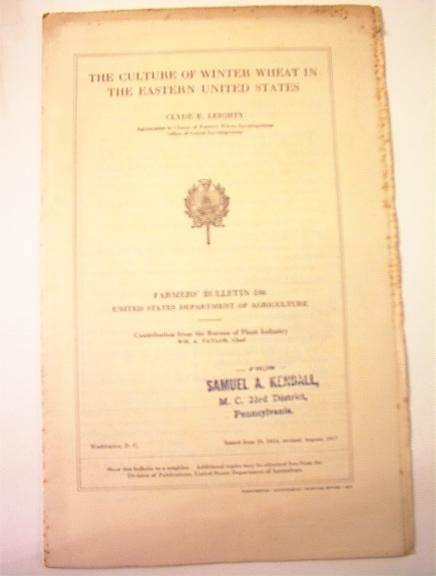 Farmers'Bulletin 596 US Department Agericult