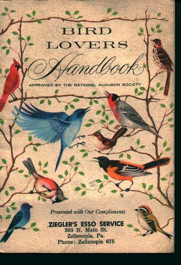 Bird Lovers Handbook- From Esso Oil!