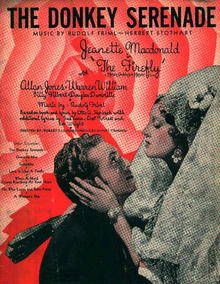 The Donkey Serenade with Jeanette Macdonald!