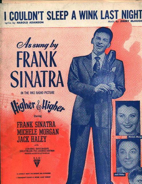 I Couldn't Sleep a Wink Last Night-Sinatra!