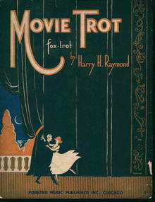 Movie Trot Fox Trot by Harry H Raymond