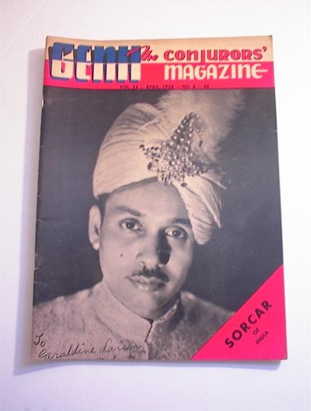 GENII,4/1958,Vol.22-No.8.SORCAR Of India cov