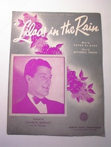 Lilacs in the Dark by Peter De Rose