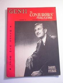 GENII,1/1950,Vol.14-No.5.Dariel Fitzkee cover
