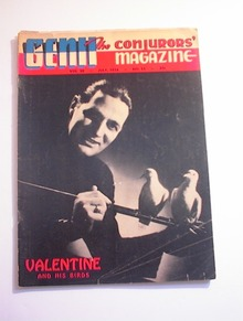 GENII,7/1956,Valentine and His Birds cover