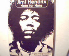 Jimi Hendrix Note for Note by R. Daniels