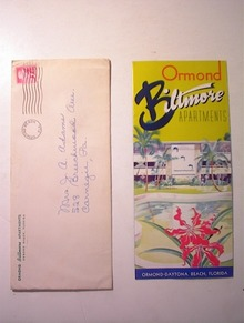 1950's Ormond Biltmore Apartments Brochure