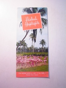 1950's Hialeah Highlight,Florida Brochure