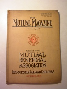 The Mutual Magazine,Pennsylvania RR,9/1918