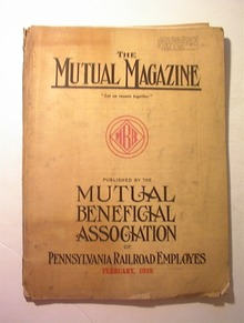 The Mutual Magazine,Pennsylvania RR,2/1918