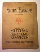 The Mutual Magazine,Pennsylvania RR,8/1918